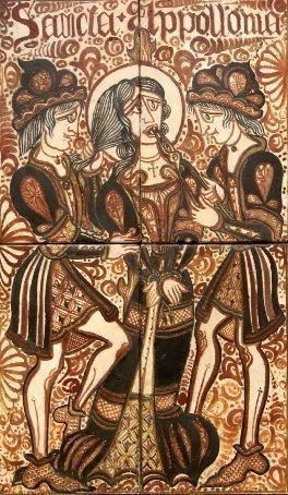 Retrato de Santa Apolonia