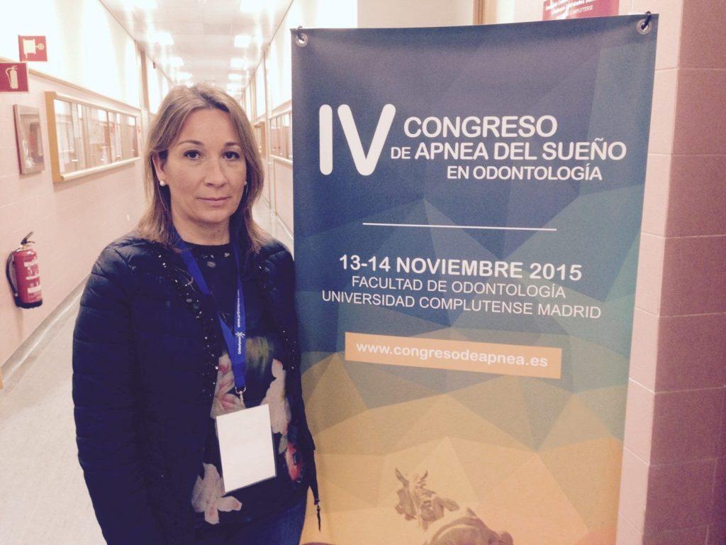 La Dra. Mercedes Arias, en la IV Edición del Congreso de Apnea del Sueño en Odontología, organizado por la Sociedad Española de Medicina Oral del Sueño (SEMODS)