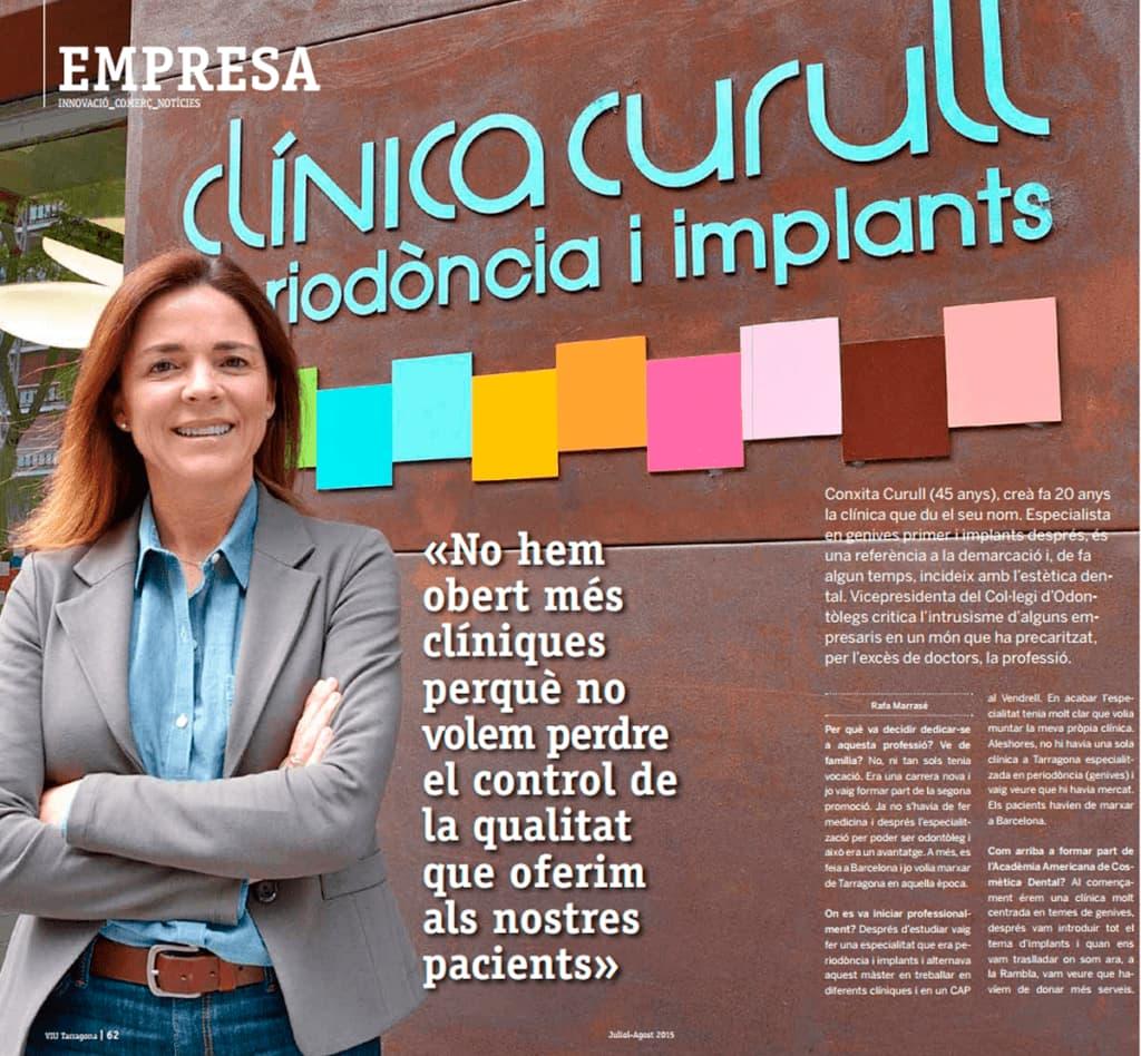 Vive Tarragona entrevista la Dra. Conchita Curull