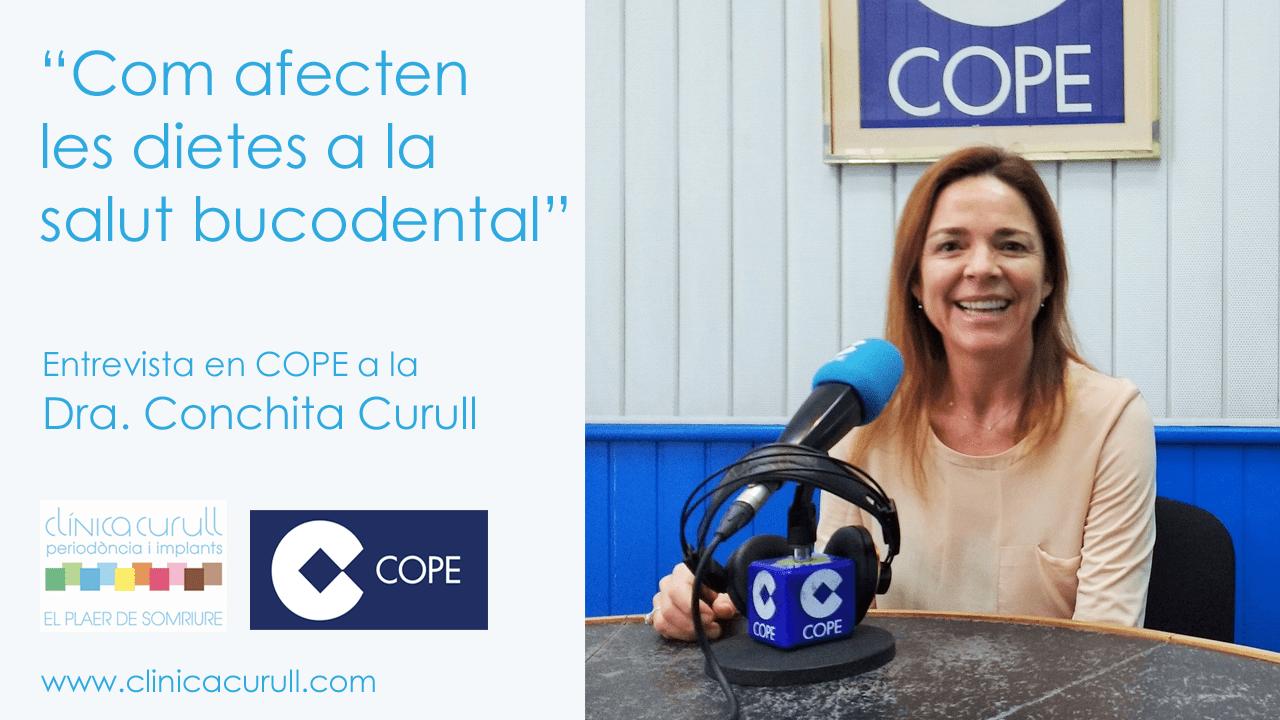 Cómo afectan las dietas,  entrevista a la Dra. Curull a Cope Tarragona